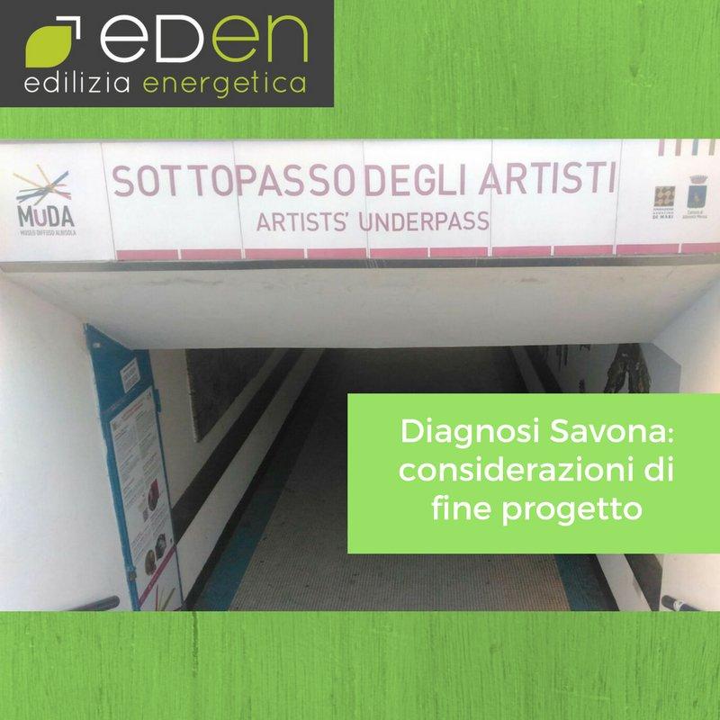 Diagnosi Savona: considerazioni di fine progetto