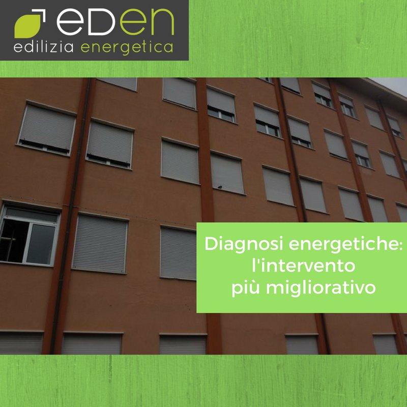 Diagnosi energetiche : l'intervento più migliorativo