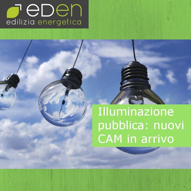 Illuminazione pubblica: nuovi criteri ambientali minimi in arrivo