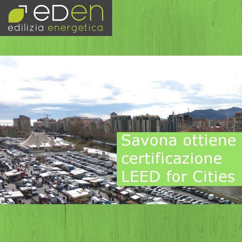 Savona: prima città europea a ricevere la certificazione LEED
