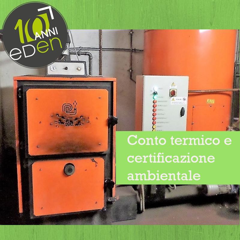 Conto Termico: l'obbligo della certificazione ambientale dal 2019