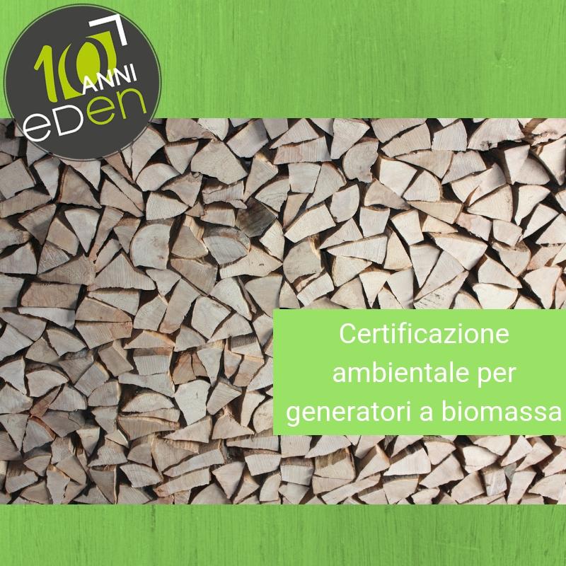 Conto Termico: l'obbligo di certificazione ambientale per generatori a biomassa