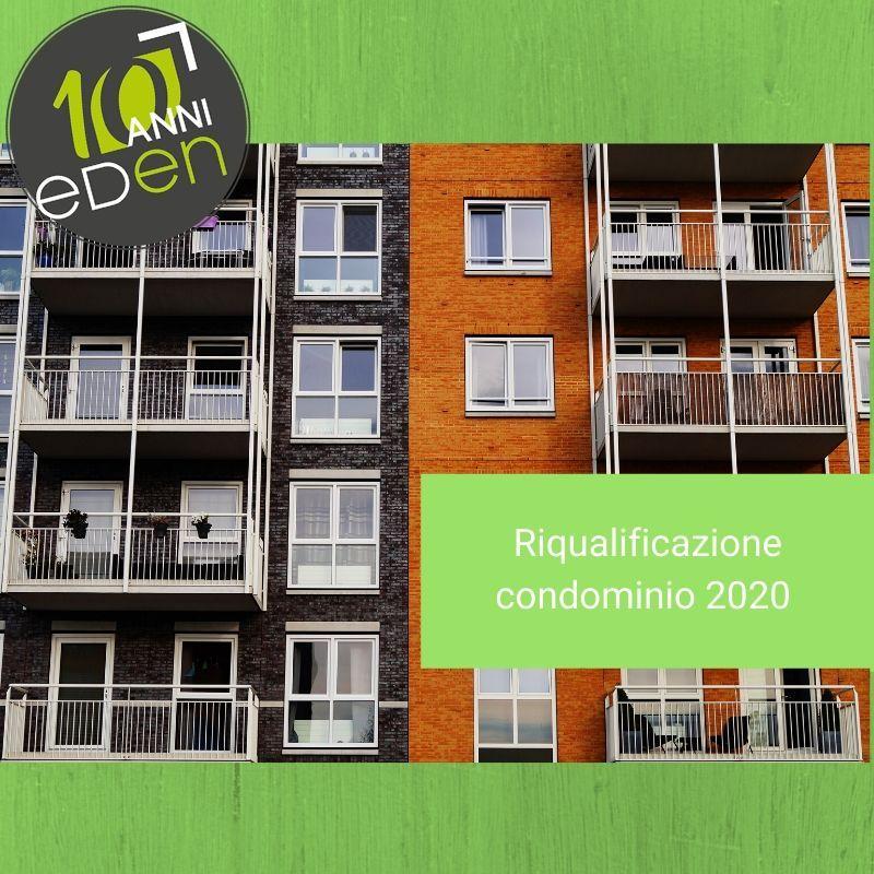 Riqualificazione energetica condominio 2020