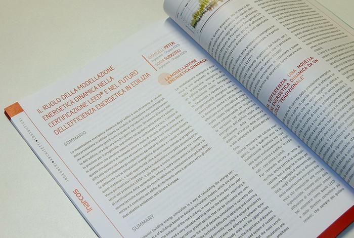 Articolo sulla Modellazione Energetica Dinamica per Inarcos