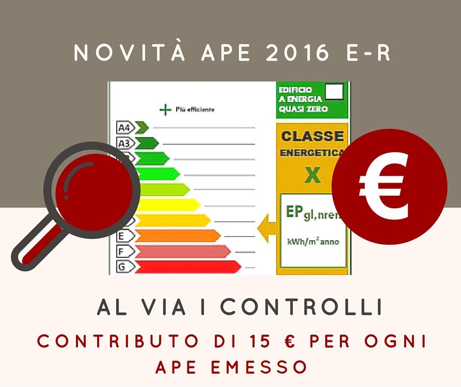 Al via i controlli sugli APE in Emilia-Romagna