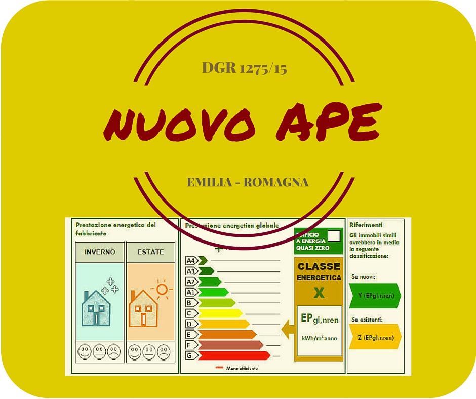 Certificazione energetica in Emilia-Romagna: la rivoluzione 2015