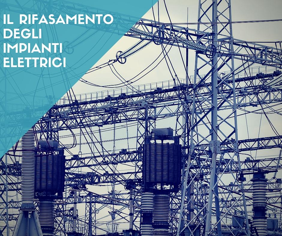 Il rifasamento degli impianti elettri