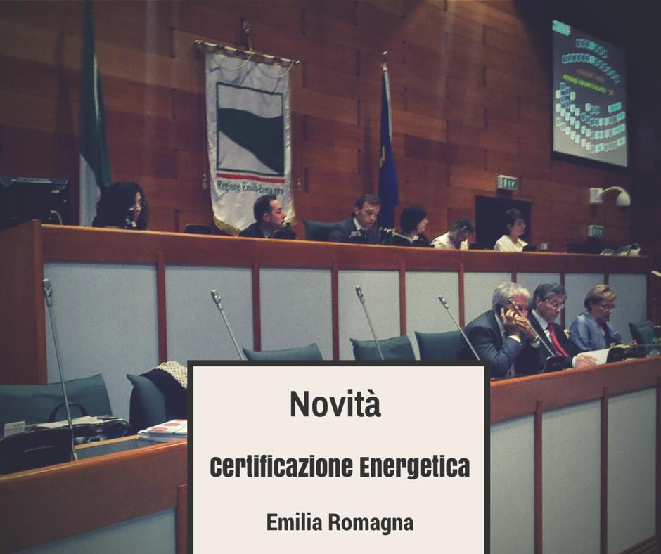 Certificazione Energetica: anche l'Emilia-Romagna aggiorna i Requisiti Minimi