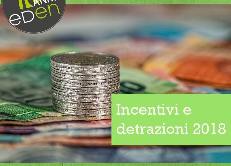 Gruppo Eden incentivi e detrazioni