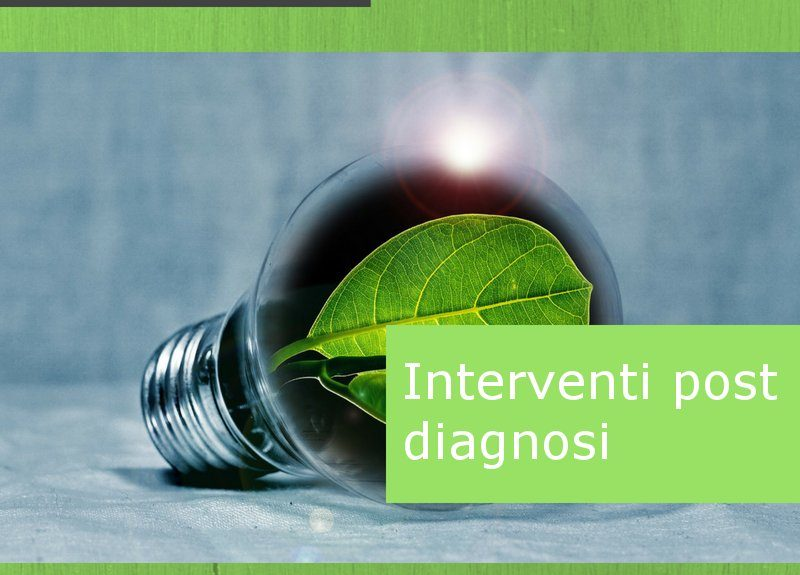 interventi post diagnosi