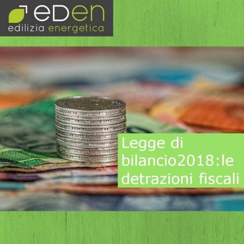 Gruppo Eden detrazioni fiscali