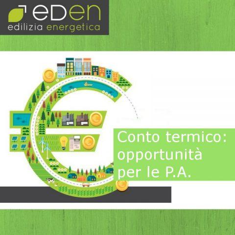 Gruppo Eden conto termico