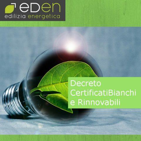 Gruppo Eden certificati bianchi