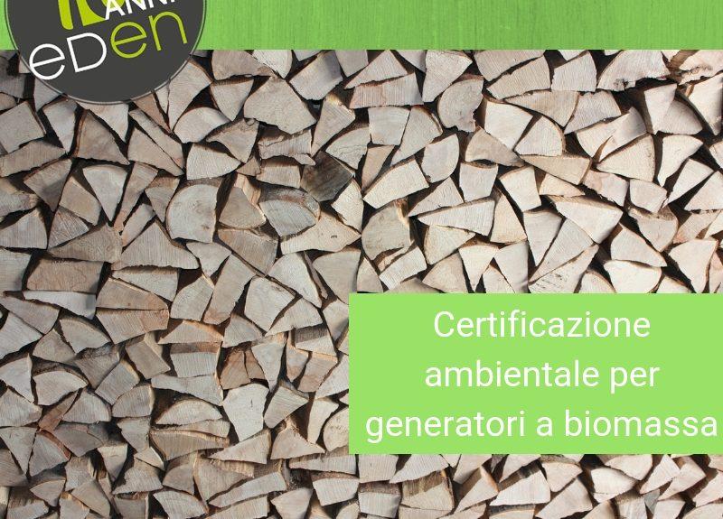 Gruppo Eden certificazione ambientale