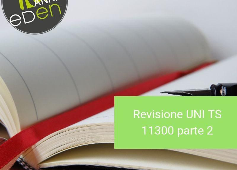 Gruppo Eden UNI TS 11300