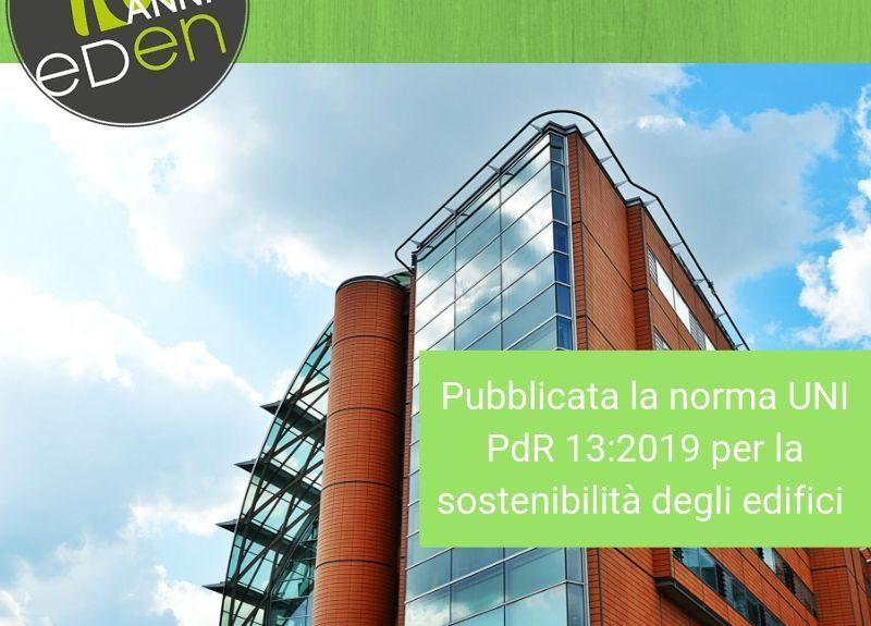 Gruppo Eden sostenibilità