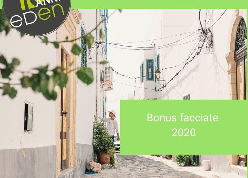 bonus facciate 2020