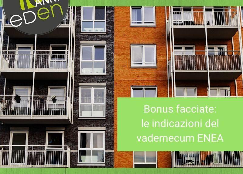 bonus facciate ENEA