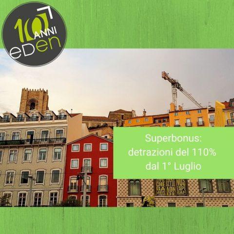 superbonus 110% detrazione ecobonus