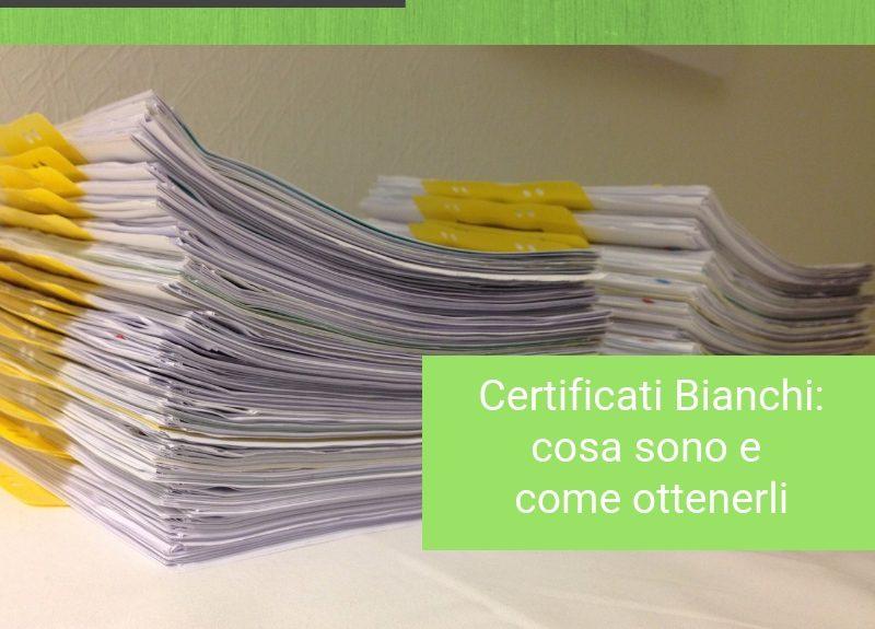 certificati bianchi Bologna