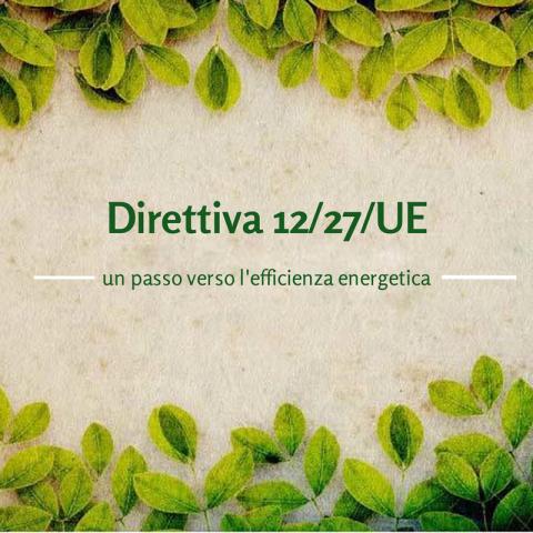 Direttiva 12/27 UE