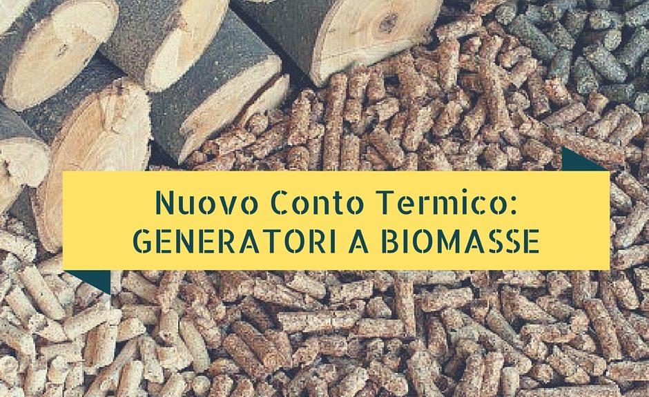 generatori biomasse
