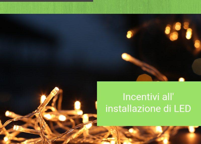 incentivi installazione LED