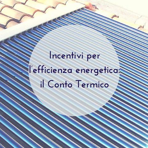 Incentivi per lefficienza energetica