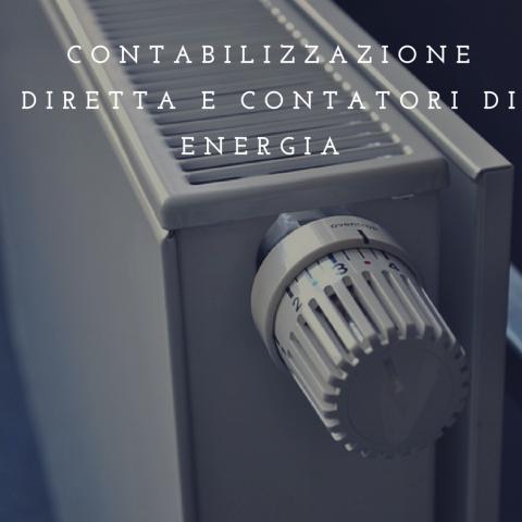 contabilizzazione diretta e contatori di energia